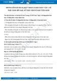 Giải bài tập Số thập phân hữu hạn, số thập phân vô hạn tuần hoàn SGK Đại số 7 tập 1