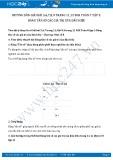 Giải bài tập Bảng tần số các giá trị của dấu hiệu SGK Đại số 7 tập 2