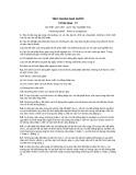 Tiêu chuẩn nhà nước TCVN 2194:1977