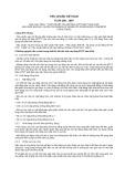 Tiêu chuẩn Việt Nam TCVN 198:1997