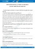 Giải bài tập Sự phát triển của giới thực vật SGK Sinh học 6