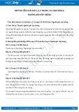 Giải bài tập Nguồn gốc cây trồng SGK Sinh học 6