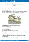Giải bài tập Về địa y SGK Sinh học 6