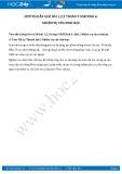 Giải bài tập Nhiệm vụ của sinh học SGK Sinh học 6