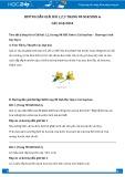 Giải bài tập Các loại hoa SGK Sinh học 6