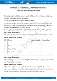 Giải bài tập Sinh sản sinh dưỡng tự nhiên SGK Sinh học 6