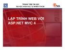 Bài giảng Lập trình Web với ASP.NET MVC 4 - Bài 4: Models