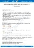 Hướng dẫn giải bài 1,2,3 ,4,5 trang 120,121 SGK Hóa 11