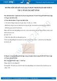 Giải bài tập Vẽ góc cho biết số đo SGK Hình học 6 tập 2