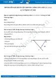 Giải bài tập Ôn tập chương 1 Đoạn thẳng SGK Hình học 6 tập 1
