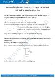 Giải bài tập Ba điểm thẳng hàng SGK Hình học 6 tập 1