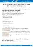 Giải bài tập Đường thẳng đi qua2 điểm SGK Hình học 6 tập 1