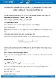 Giải bài tập Vẽ đoạn thẳng cho biết độ dài SGK Hình học 6 tập 1