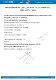 Giải bài tập Điểm, đường thẳng SGK Hình học 6 tập 1