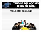 Bài giảng Định hướng nghề nghiệp và kỹ năng học tập: Chương 5 - Nguyễn Hoàng Phi Nam (Phần 1)