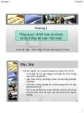 Bài giảng Kế toán doanh nghiệp: Chương 1 - Nguyễn Hoàng Phi Nam
