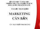 Bài giảng Marketing căn bản – ThS. Trần Phi Hoàng (152 tr)