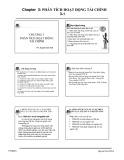 Bài giảng Phân tích hoạt động tài chính: Chương 3 - ThS. Nguyễn Quốc Nhất