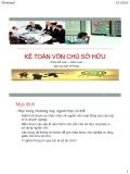 Bài giảng Kế toán doanh nghiệp: Chương 6 - Nguyễn Hoàng Phi Nam