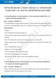 Hướng dẫn giải bài 1,2,3 trang 55 SGK Địa lí 11