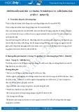Hướng dẫn giải bài 1,3 trang 72 SGK Địa lí 11
