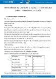 Hướng dẫn giải bài 1,2,3 trang 66 SGK Địa lí 11