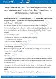 Hướng dẫn giải bài 1,2,3,4 trang 90 SGK Địa lí 11