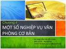 Bài giảng Quản trị hành chính văn phòng: Chương 4 - Nguyễn Thị Tiểu Loan