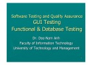 Lecture Software testing and quality assurance: Lecture 4 - TS. Đào Nam Anh