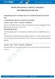Hướng dẫn giải bài 1,2 trang 131 SGK Địa lí 8