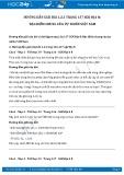 Hướng dẫn giải bài 1,2,3 trang 137 SGK Địa lí 8