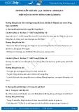Hướng dẫn giải bài 1,2,3 trang 61 SGK Địa lí 8
