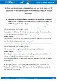 Hướng dẫn giải bài 1,2,3 trang 68 SGK Địa lí 10