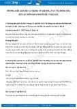 Hướng dẫn giải bài 1,2 trang 31 SGK Địa lí 10