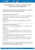 Hướng dẫn giải bài 1,2,3 trang 163 SGK Địa lí 10
