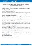 Hướng dẫn giải bài 1,2 trang 8 SGK Địa lí 10