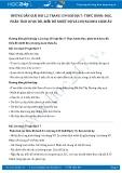 Hướng dẫn giải bài 1,2 trang 159 SGK Địa lí 7