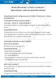 Hướng dẫn giải bài 1,2 trang 143 SGK Địa lí 7