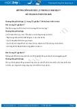 Hướng dẫn giải bài 1,2 trang 55 SGK Địa lí 7