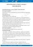 Hướng dẫn giải bài 1,2 trang 115 SGK Địa lí 7