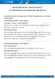 Hướng dẫn giải bài 1,2,3 trang 9 SGK Địa lí 7