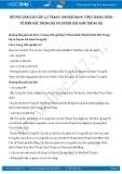 Hướng dẫn giải bài 1,2 trang 100 SGK Địa lí 9