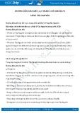 Hướng dẫn bài 1,2,3 trang 105 SGK Địa lí 9