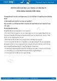 Hướng dẫn giải bài 1,2,3 trang 123 SGK Địa lí 9