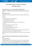 Hướng dẫn giải câu 1,2,3 trang 116 SGK Địa lí 9