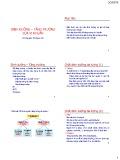 Bài giảng Vi sinh: Dinh dưỡng - Tăng trưởng của vi khuẩn - GV. Nguyễn Thị Ngọc Yến