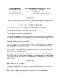 Quyết định số: 57/2016/QĐ-UBND năm 2016