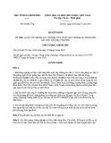 Quyết định số: 07/QĐ-TTg năm 2017