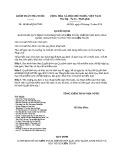 Quyết định số: 10/2016/QĐ-KTNN năm 2016