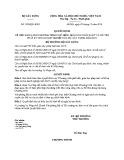 Quyết định số: 1382/QĐ-BXD năm 2016